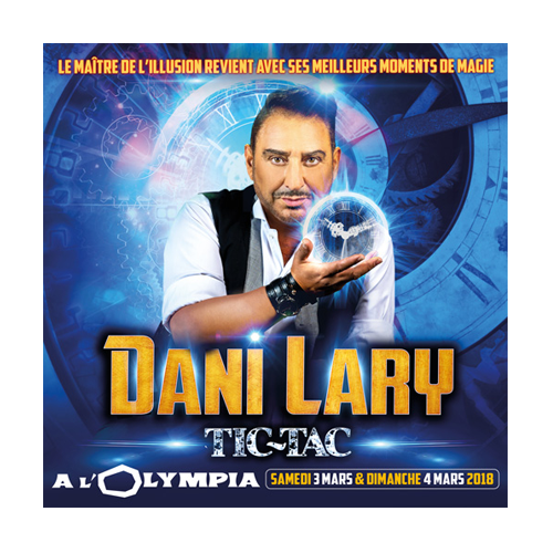 Dani Lary à Paris