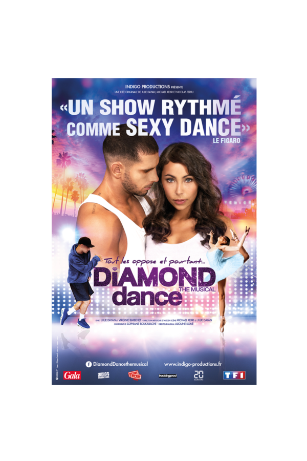 Diamond Dance the musical à Amiens Diamond Dance the musical à Roubaix