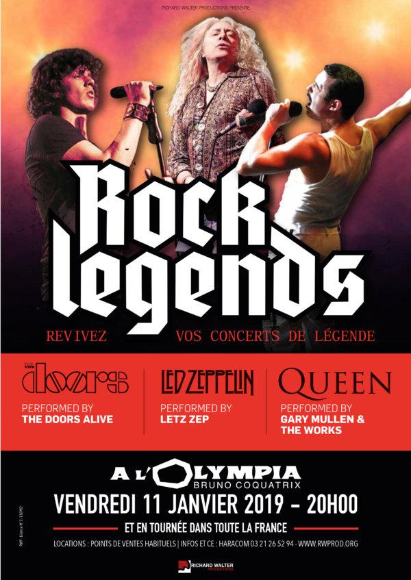 Rock Legends à Paris