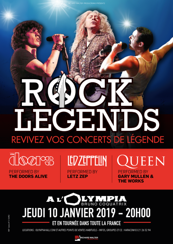 Rock Legends à Paris