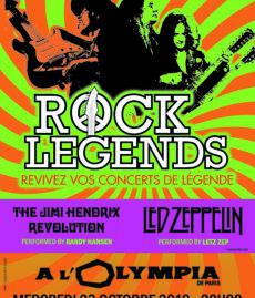 Rock Legends Hendrix Led Zep